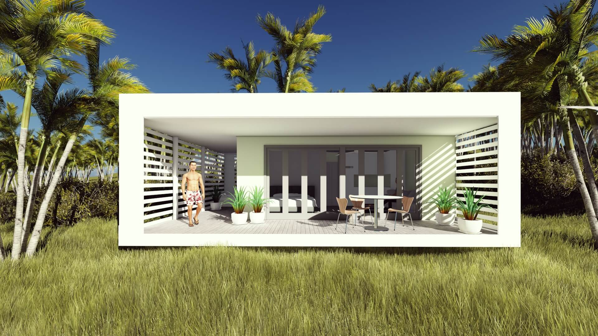 Granny flat designs prices gold coast funky little shack for Beach house designs gold coast