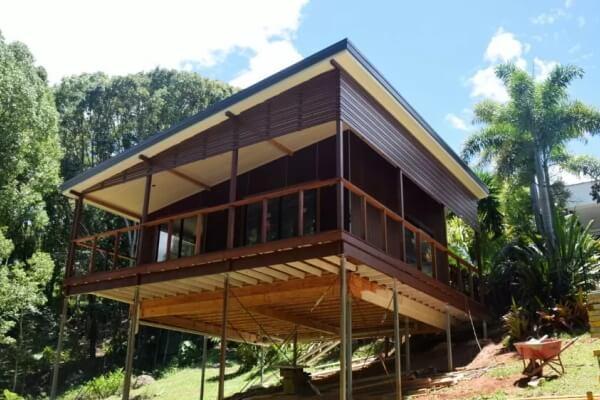 building in bushfire areas